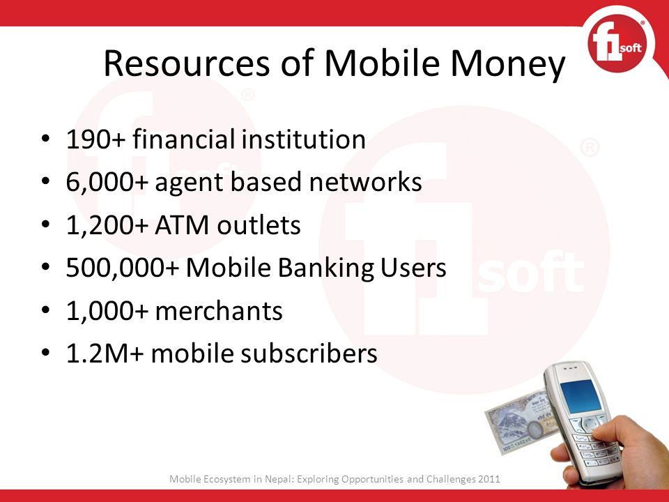 Resources of Mobile Money