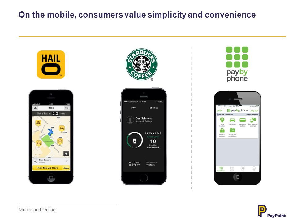 On the mobile, consumers value simplicity and convenience