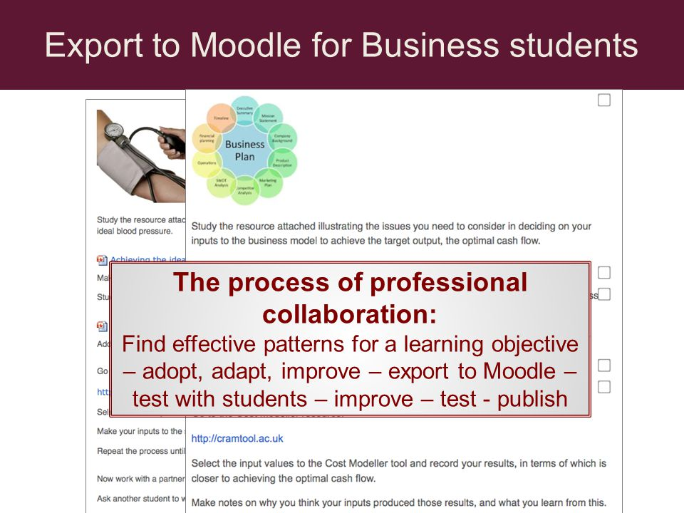 The process of professional collaboration: