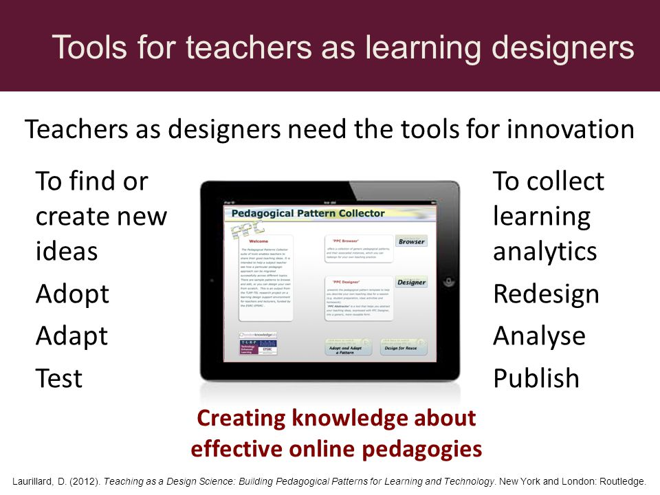 Creating knowledge about effective online pedagogies