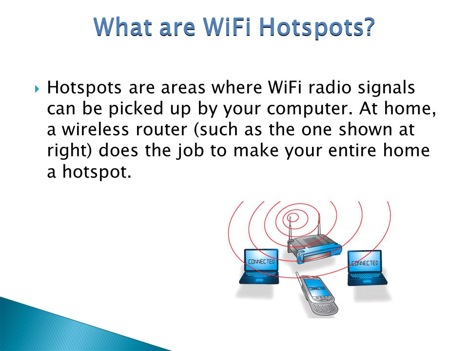 What are WiFi Hotspots