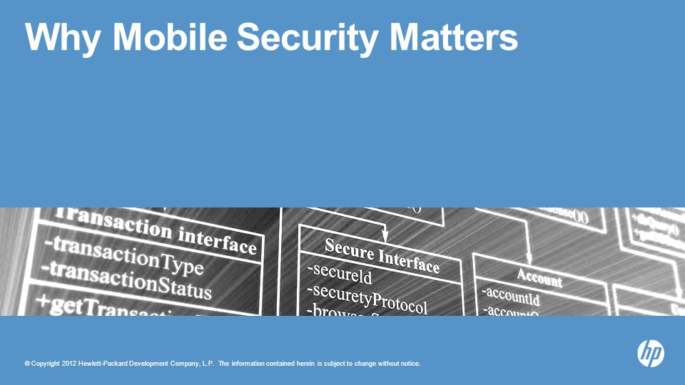 Why Mobile Security Matters