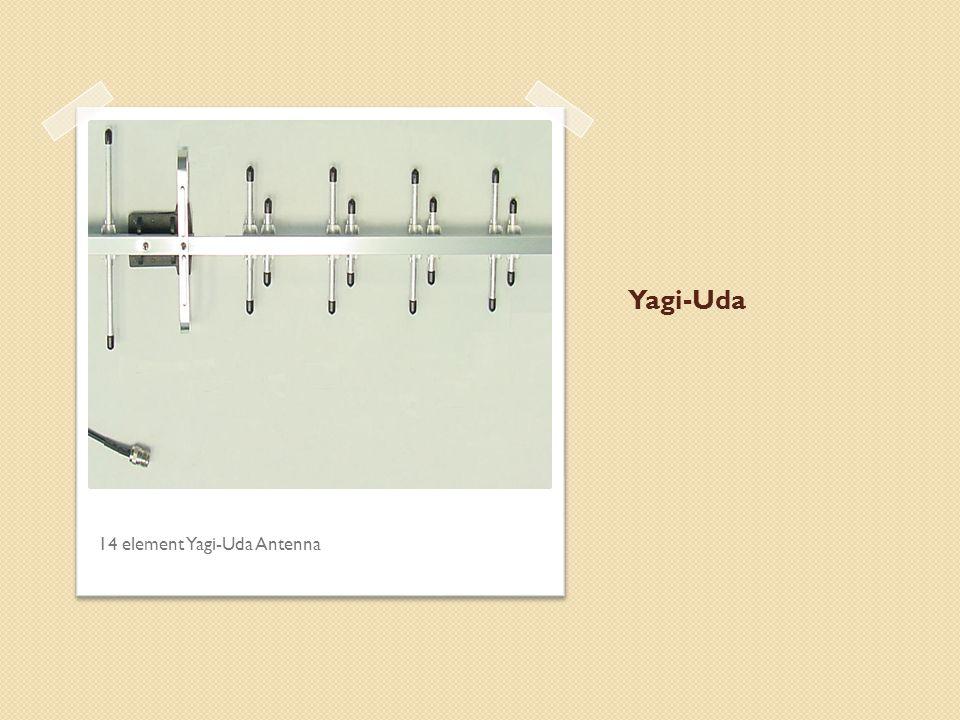 Yagi-Uda 14 element Yagi-Uda Antenna