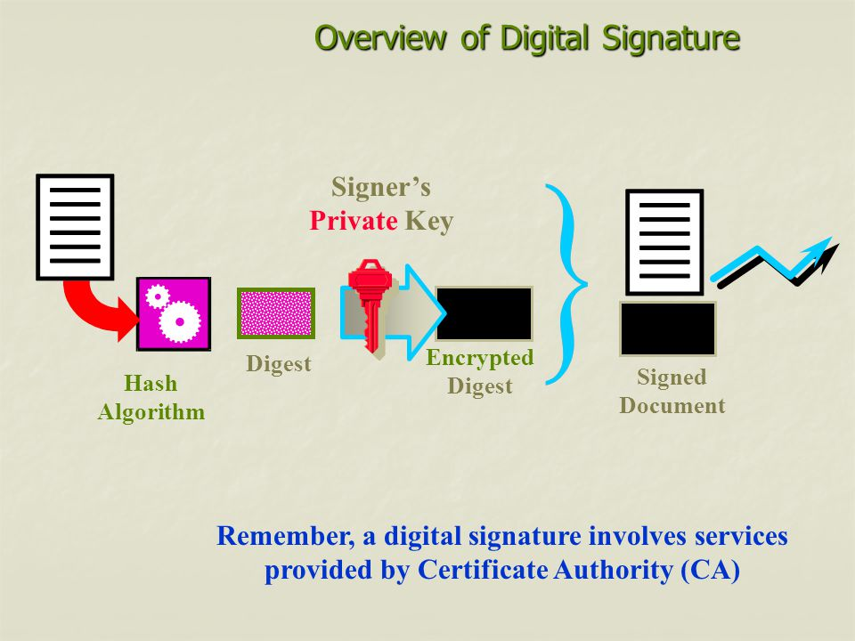 Overview of Digital Signature