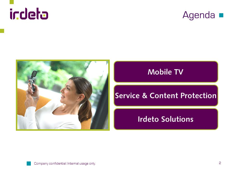 Service & Content Protection