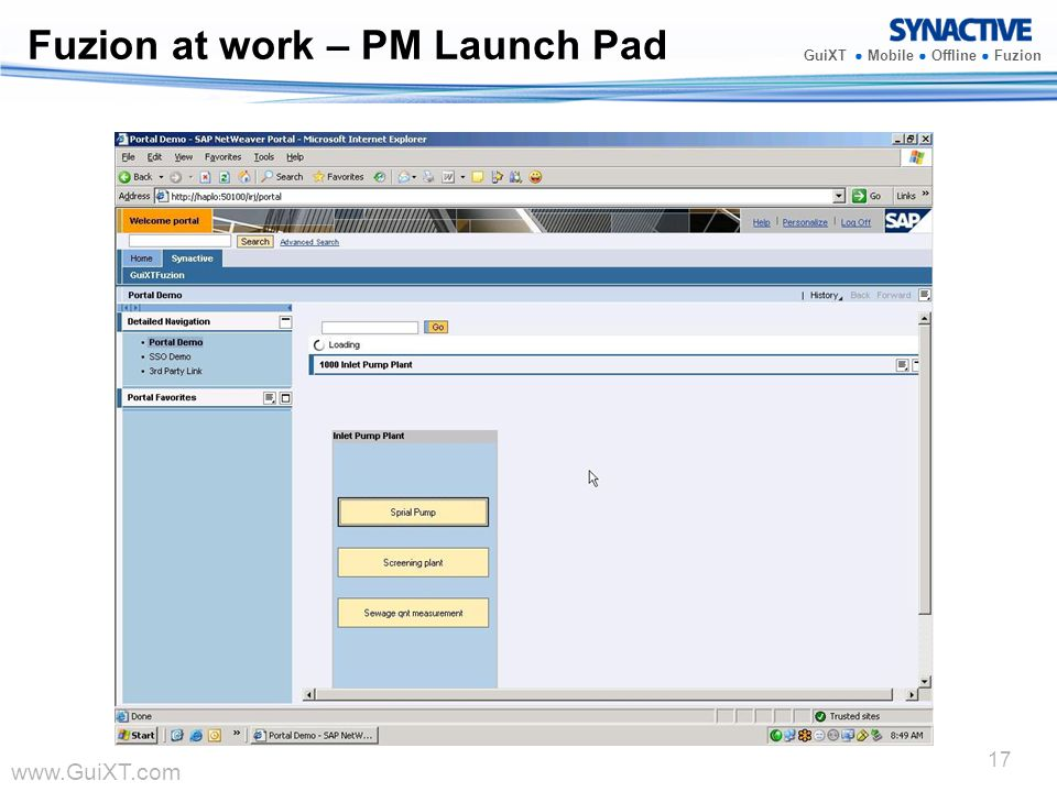 Fuzion at work – PM Launch Pad