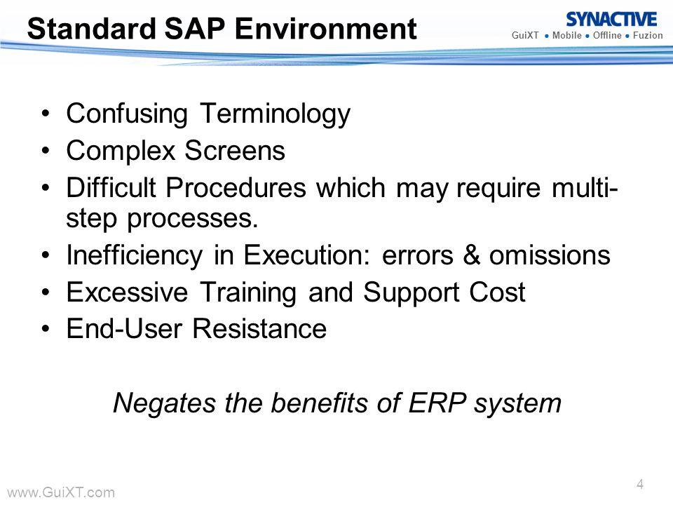 Standard SAP Environment