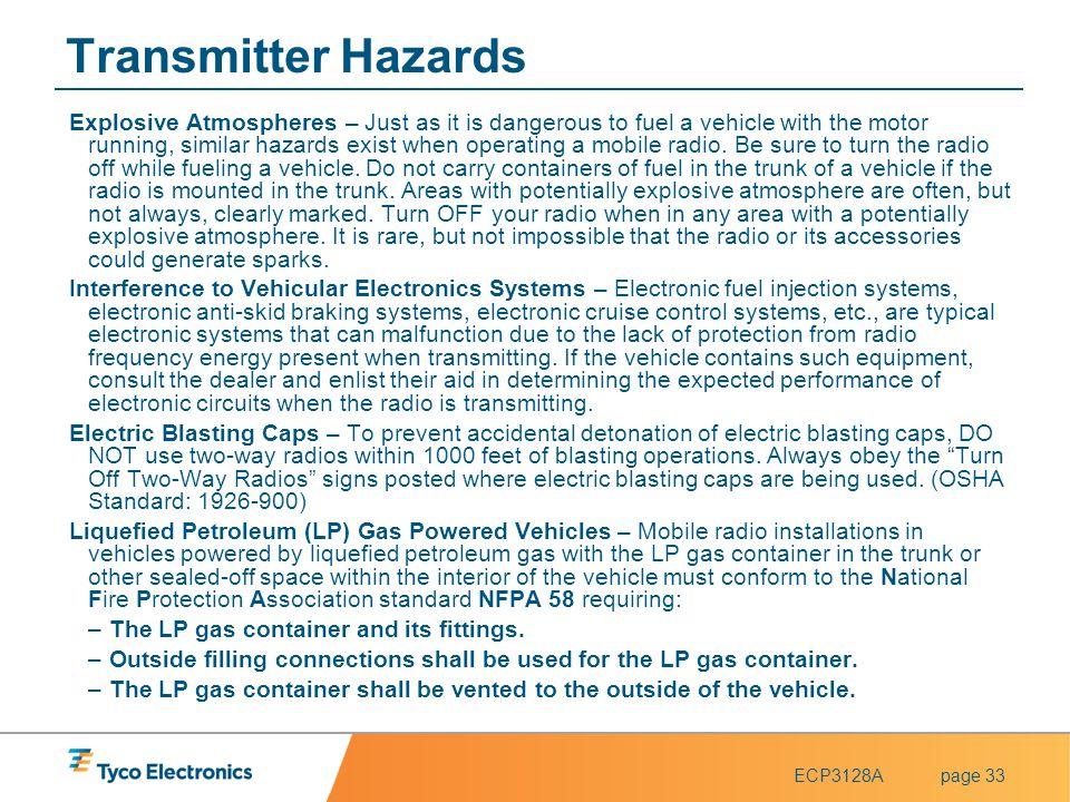 Transmitter Hazards