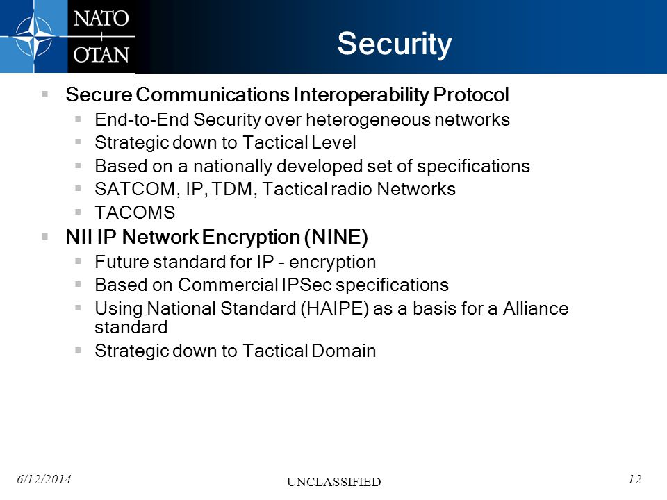 Security Secure Communications Interoperability Protocol