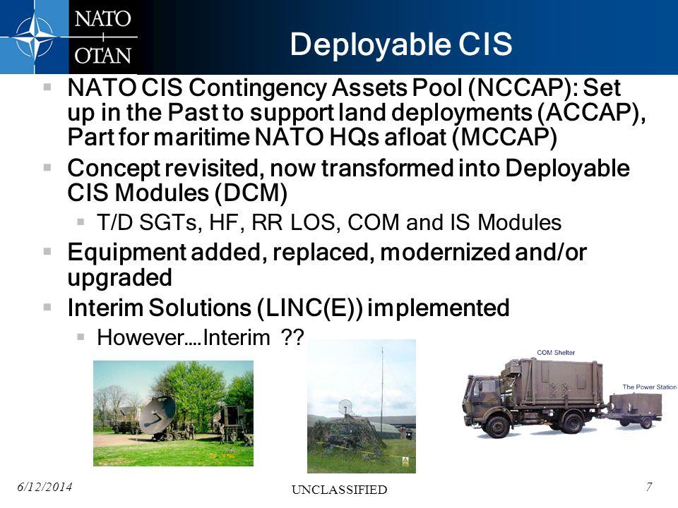 Deployable CIS