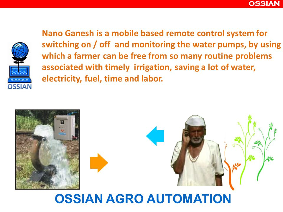 OSSIAN AGRO AUTOMATION