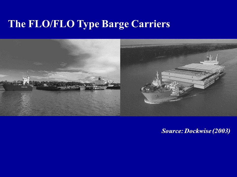 The FLO/FLO Type Barge Carriers