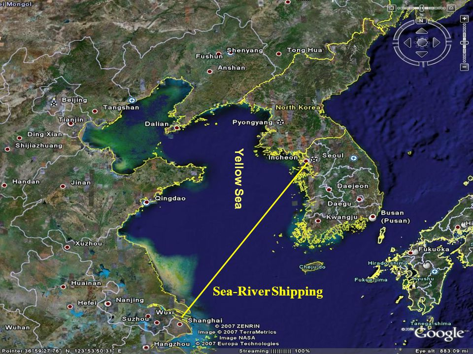 Yellow Sea Sea-River Shipping