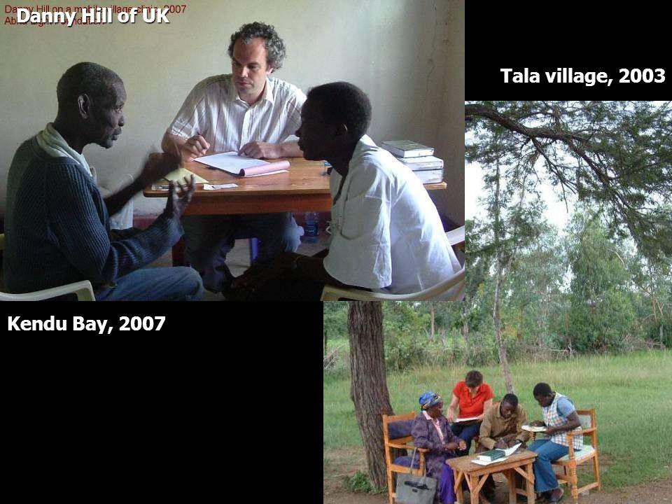 Danny Hill of UK Tala village, 2003 Kendu Bay, 2007
