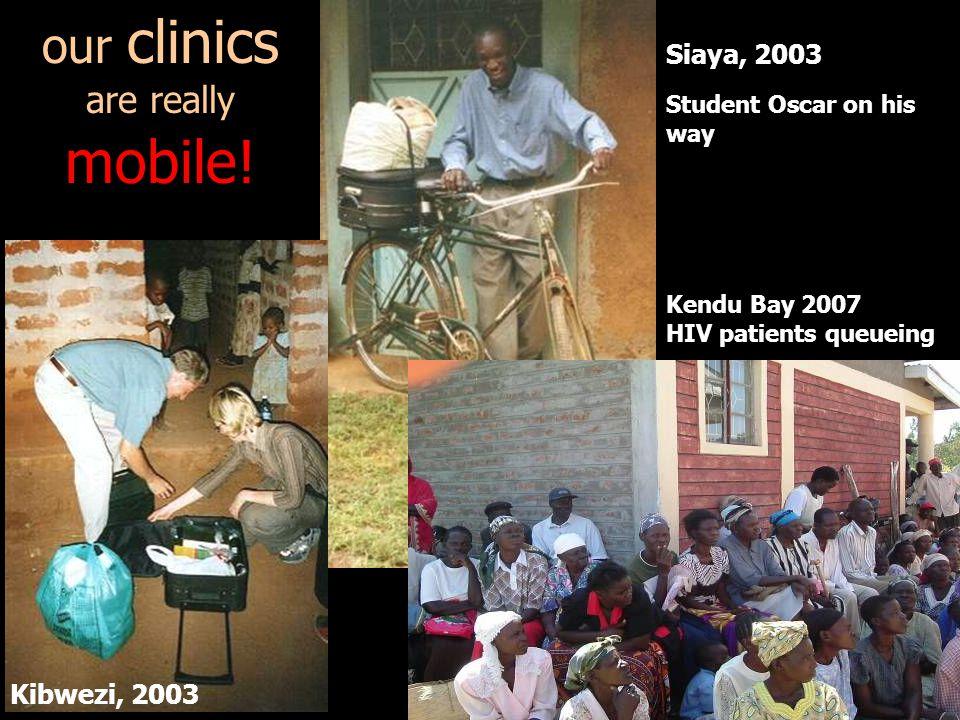 mobile! our clinics are really Siaya, 2003 Kibwezi, 2003