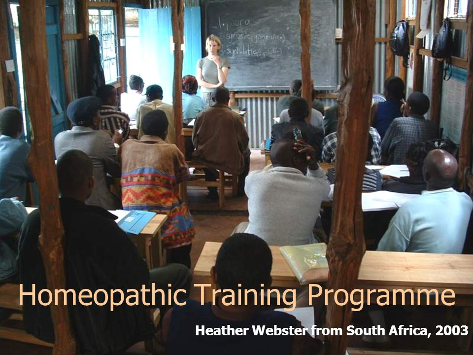 Homeopathic Training Programme