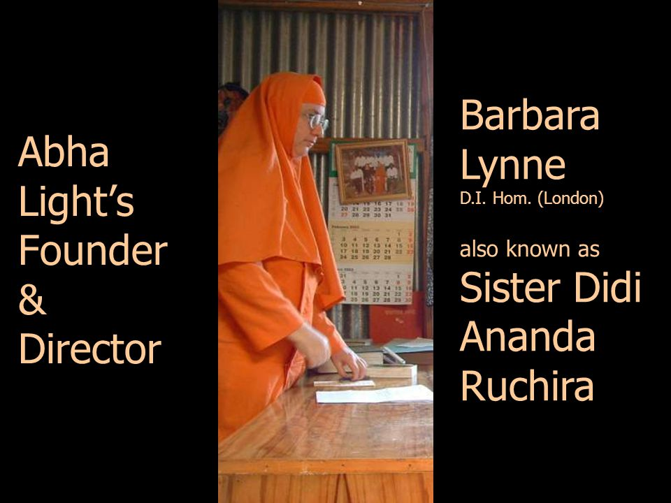 Abha Light's Founder & Director