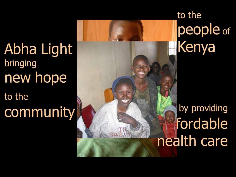 Abha Light bringing new hope to the community