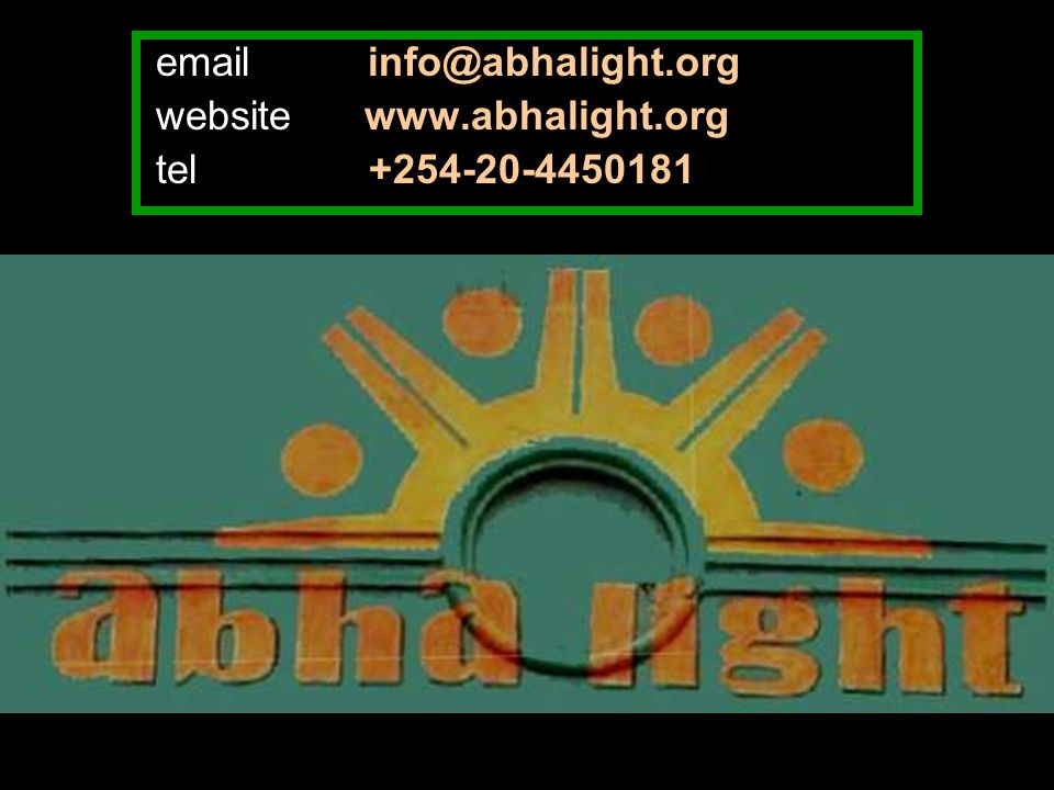 email info@abhalight.org