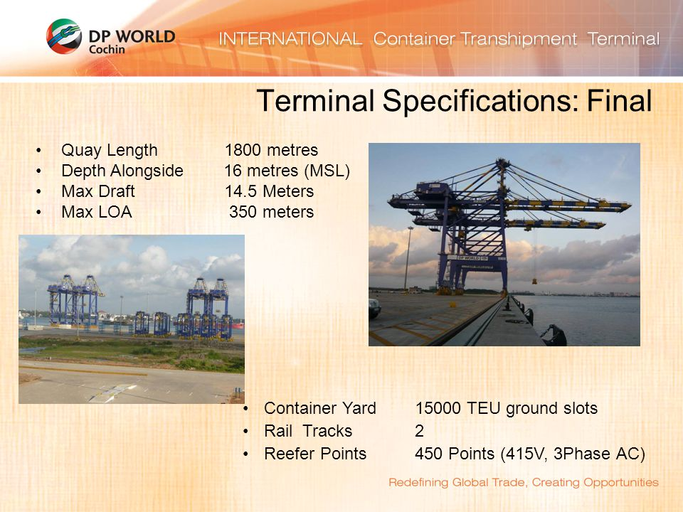 Terminal Specifications: Final
