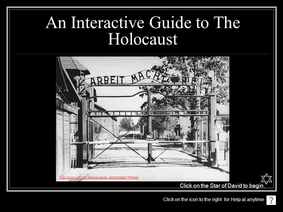 An Interactive Guide to The Holocaust