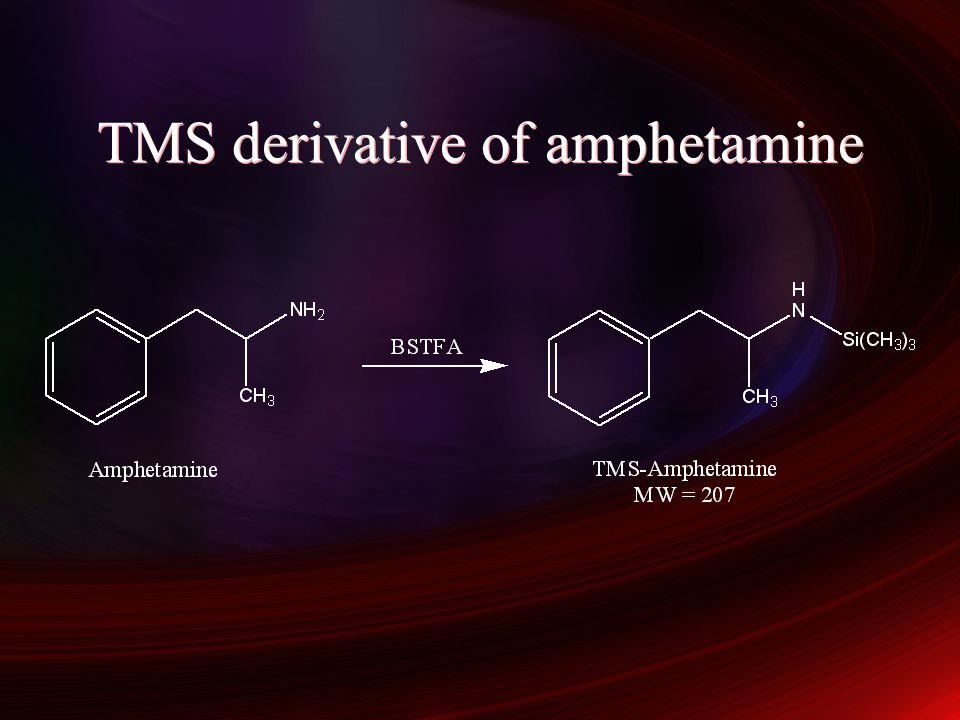 TMS derivative of amphetamine
