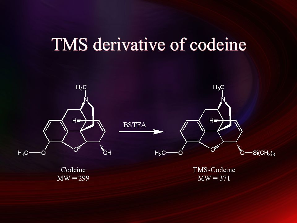 TMS derivative of codeine