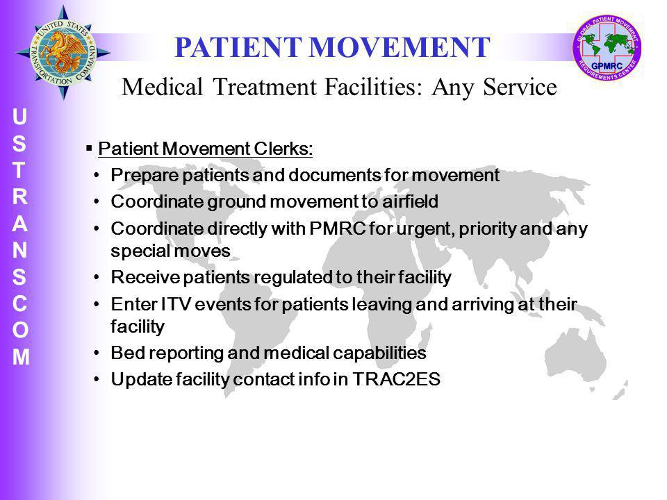 Medical Treatment Facilities: Any Service
