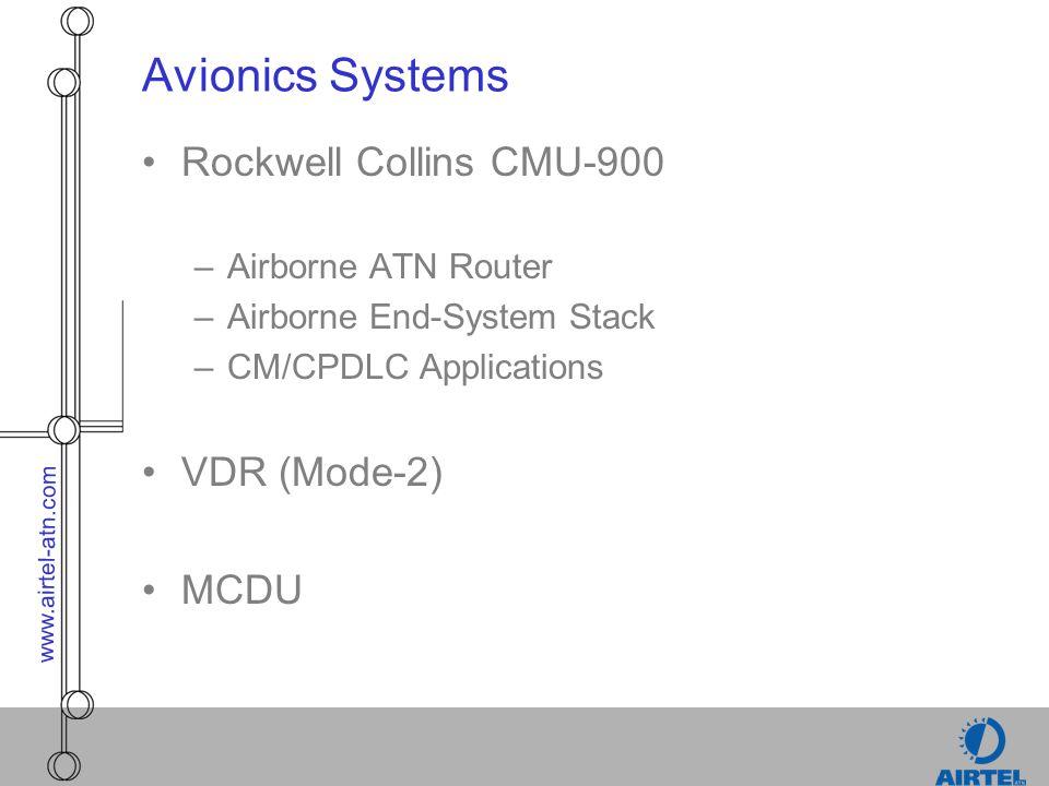 Avionics Systems Rockwell Collins CMU-900 VDR (Mode-2) MCDU