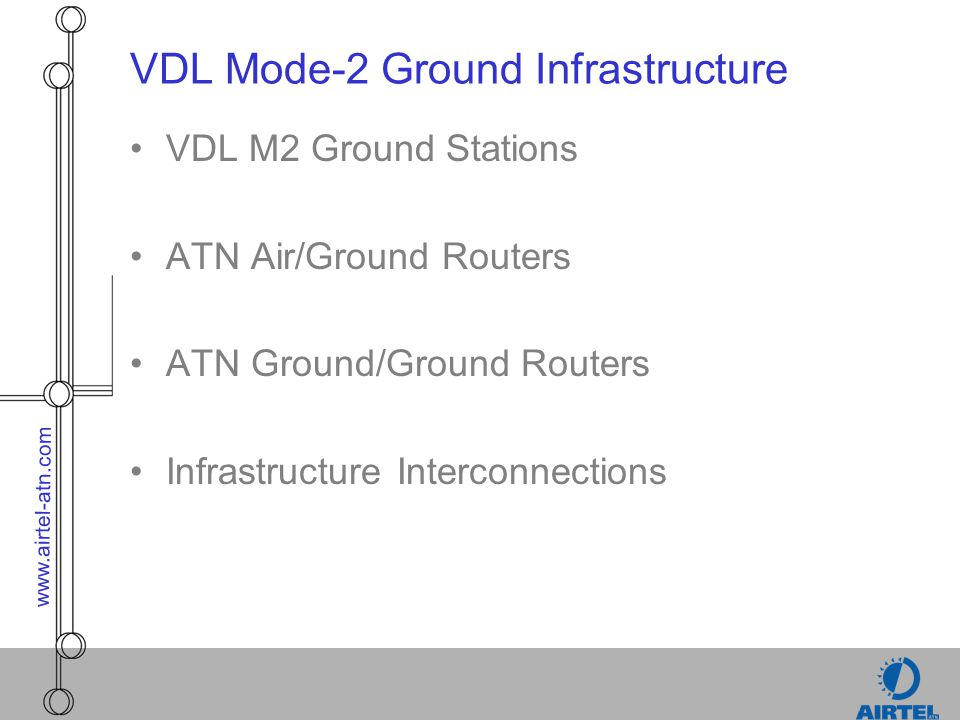 VDL Mode-2 Ground Infrastructure