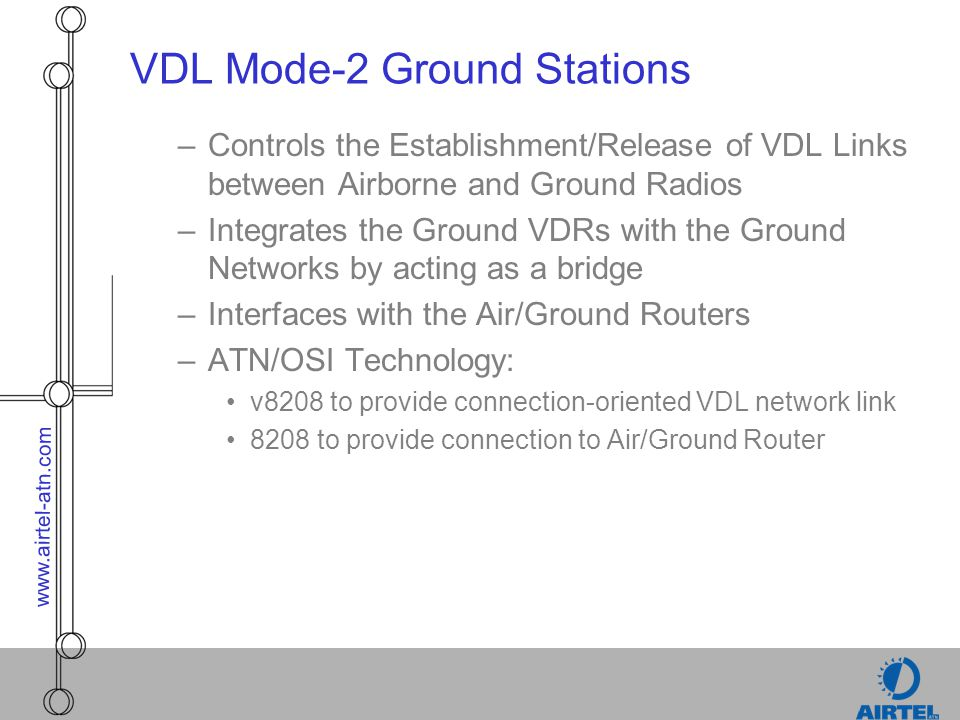 VDL Mode-2 Ground Stations