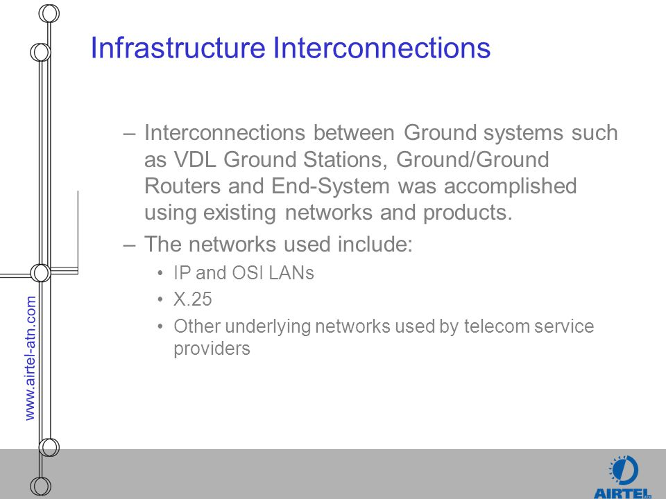 Infrastructure Interconnections