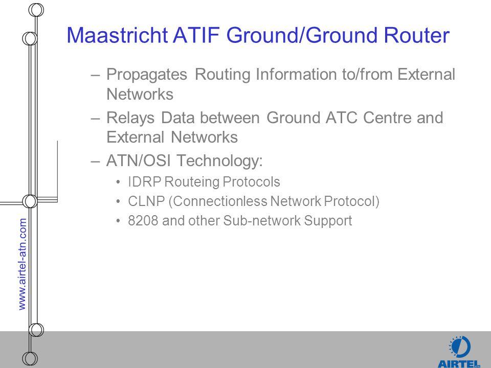 Maastricht ATIF Ground/Ground Router