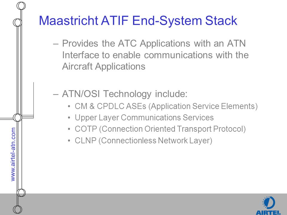 Maastricht ATIF End-System Stack
