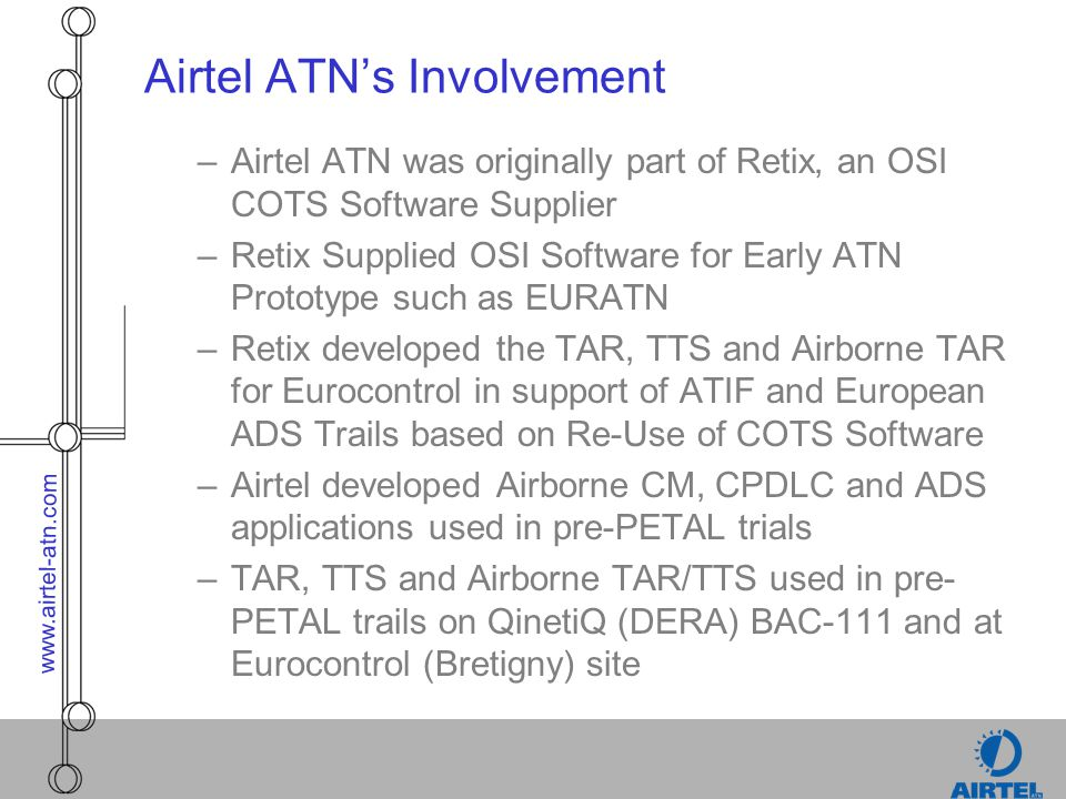 Airtel ATN's Involvement