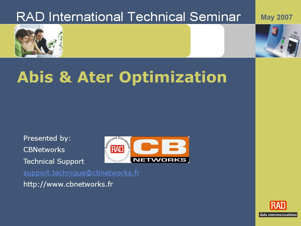 Abis & Ater Optimization