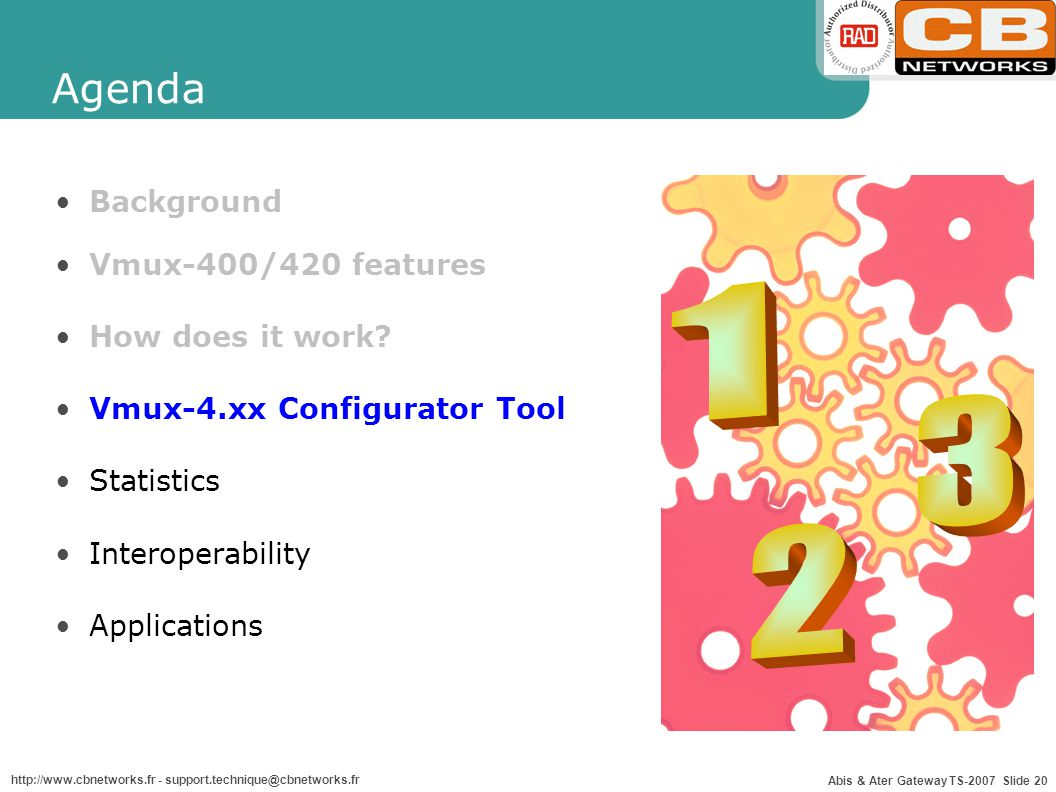 1 3 2 Agenda Background Vmux-400/420 features How does it work