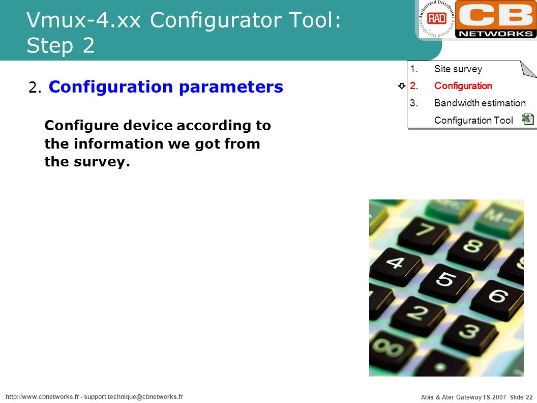Abis ater optimization ppt download for Dynamic configuration tool
