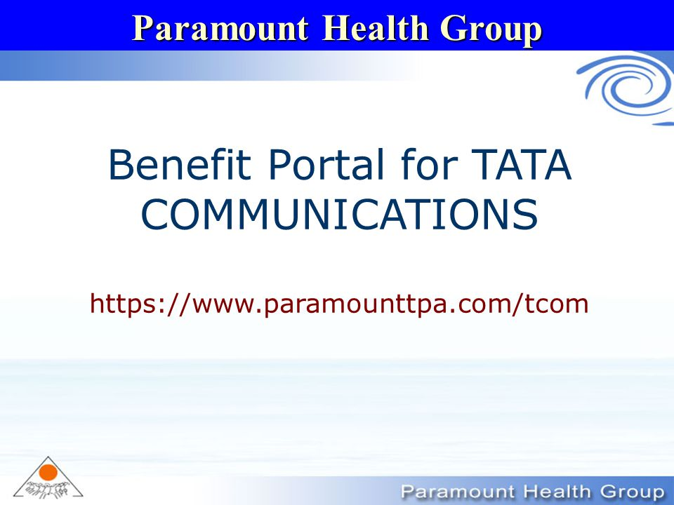 Benefit Portal for TATA COMMUNICATIONS