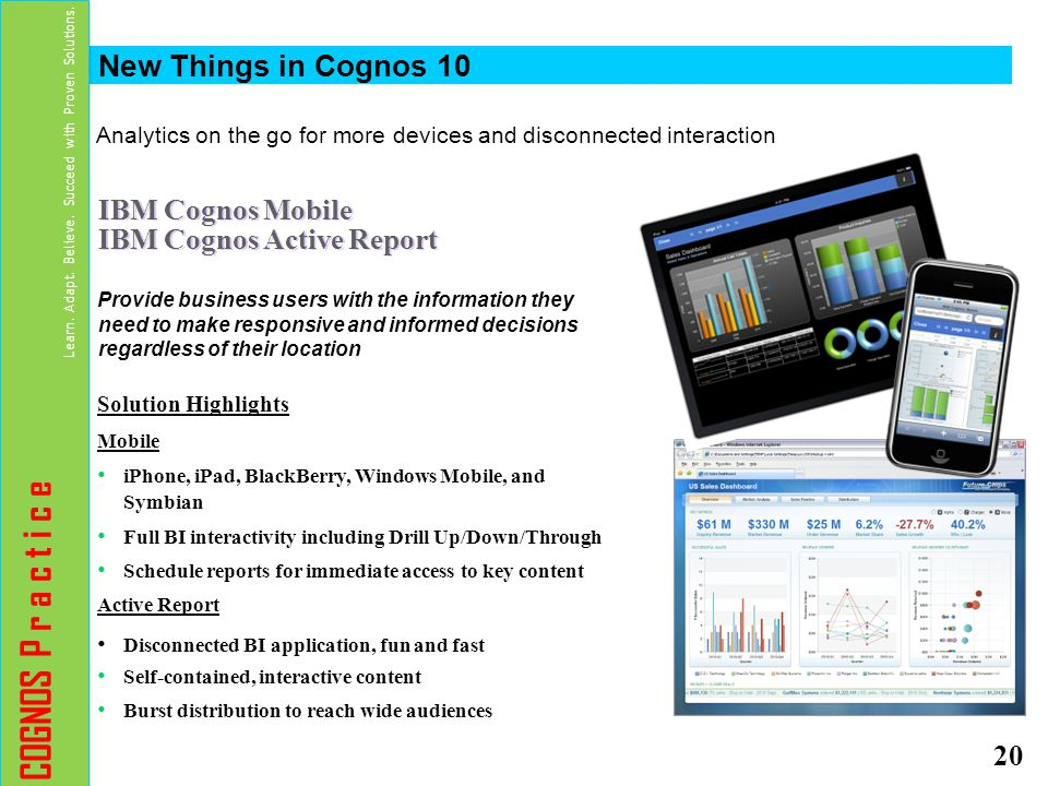 Analytics on the go for more devices and disconnected interaction