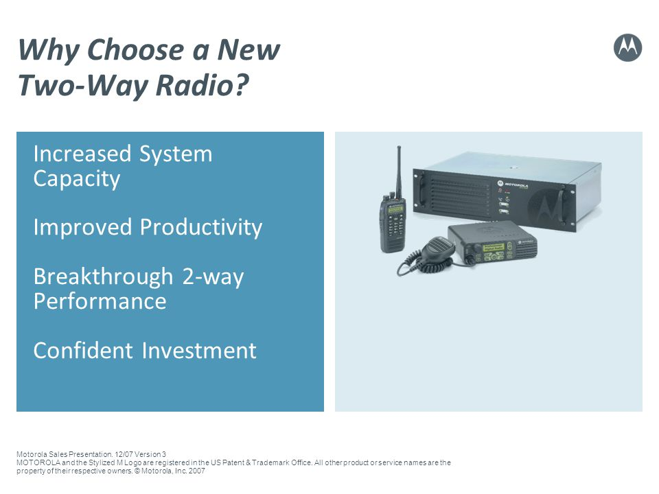 Why Choose a New Two-Way Radio