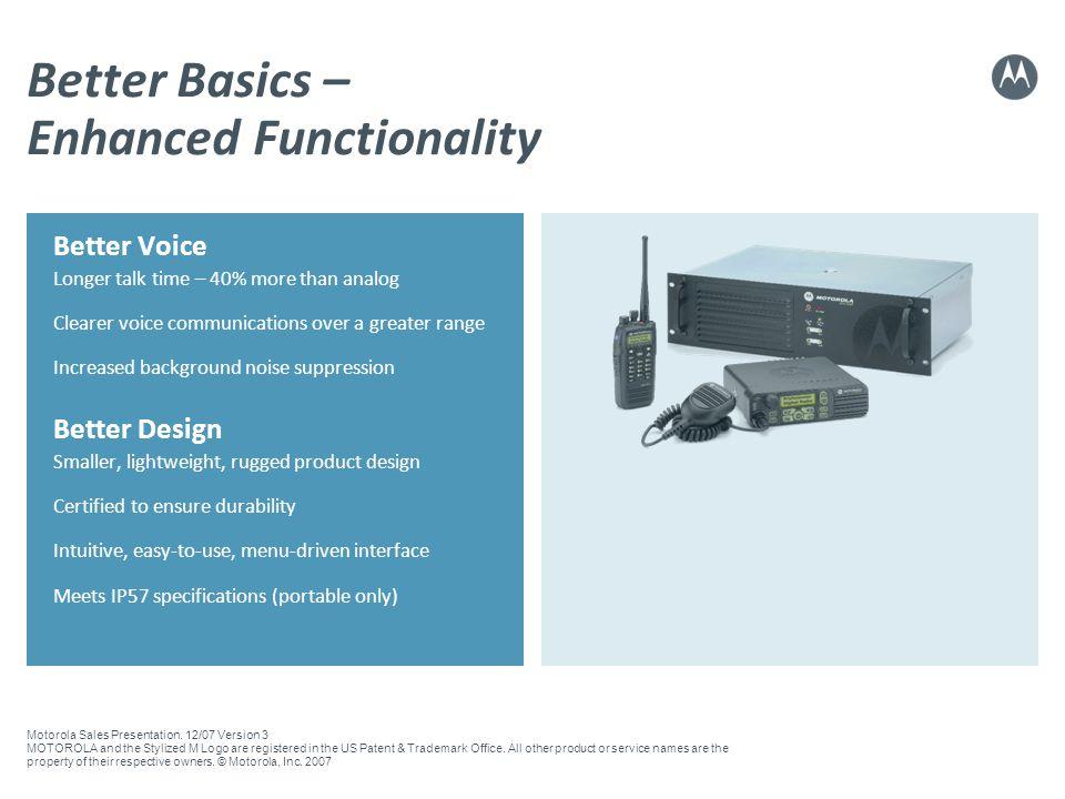 Better Basics – Enhanced Functionality