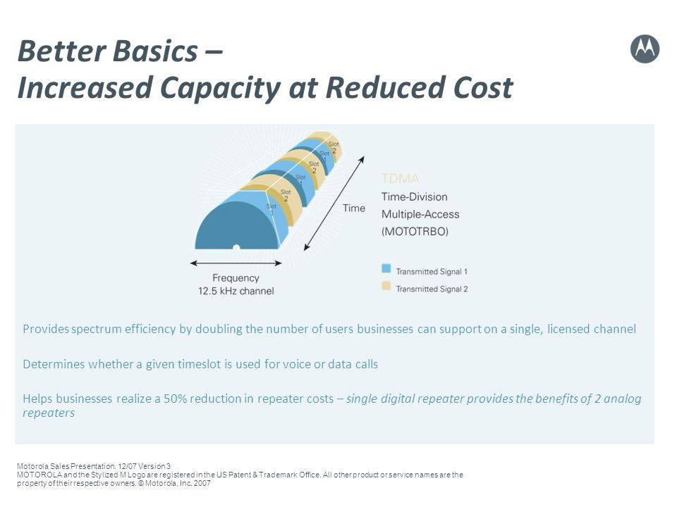 Better Basics – Increased Capacity at Reduced Cost