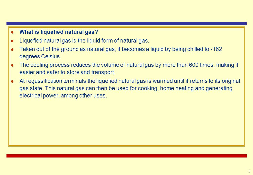 What is liquefied natural gas