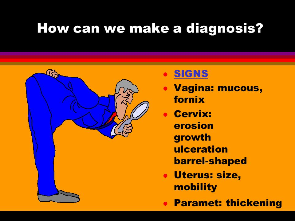 How can we make a diagnosis