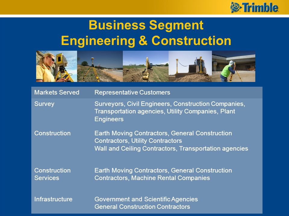 Business Segment Engineering & Construction