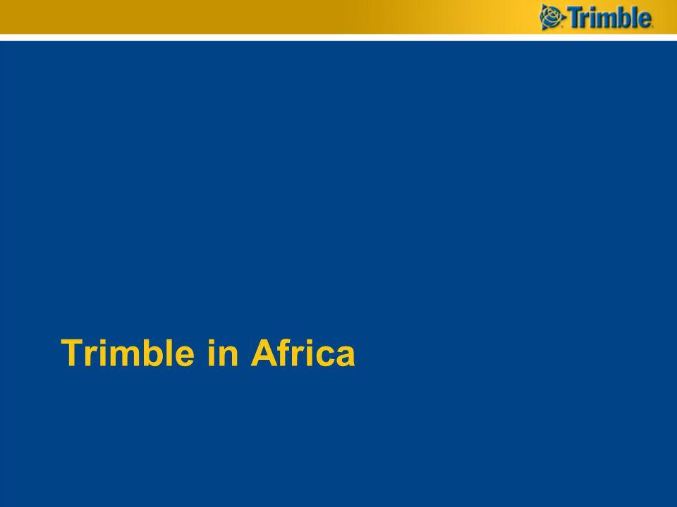 Trimble in Africa