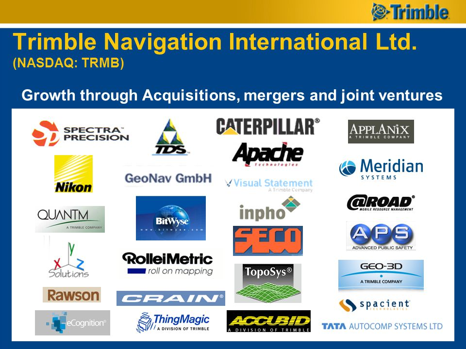 Trimble Navigation International Ltd. (NASDAQ: TRMB)