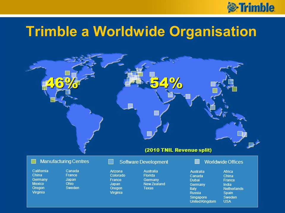 Trimble a Worldwide Organisation