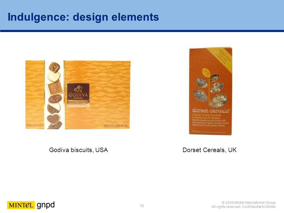 Indulgence: design elements